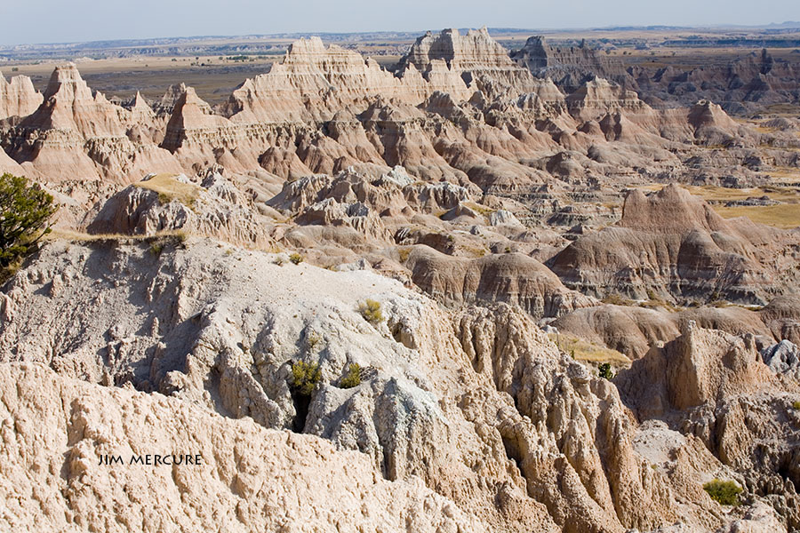 The Badlands National Park