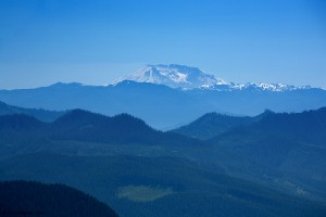 View of Mt. St. Helens from Eagle Peak - Mt. Rainier