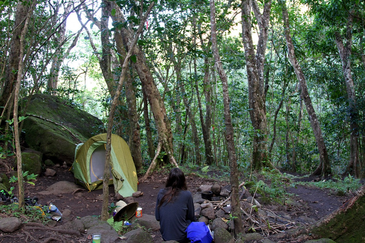 Hanakoa Valley Campsite